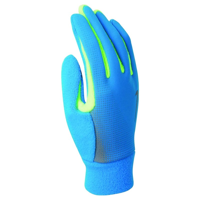 Перчатки для бега Nike Men'S Tech Thermal Running Gloves Blue Hero/Volt nike nike rally running gloves