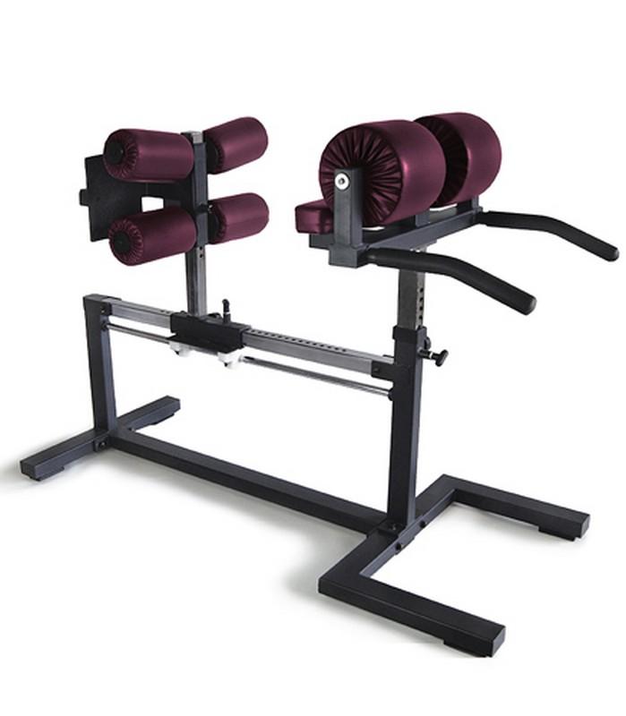 Глют-скамья Kraft Fitness KFGHB регулируемая скамья kraft fitness kffiuby