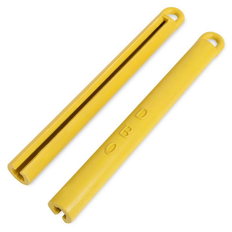 Купить Держатель для кия резиновый l195мм 01884 желтый, NoBrand