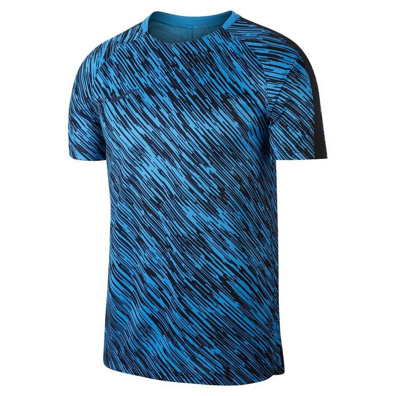 Футболка мужская Nike Dry Sqd Top Ss Gx 893347-469 игровая, син/черн футболка найк