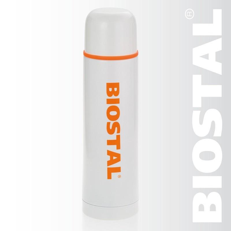 Термос Biostal NB-750 СW с кнопкой белый