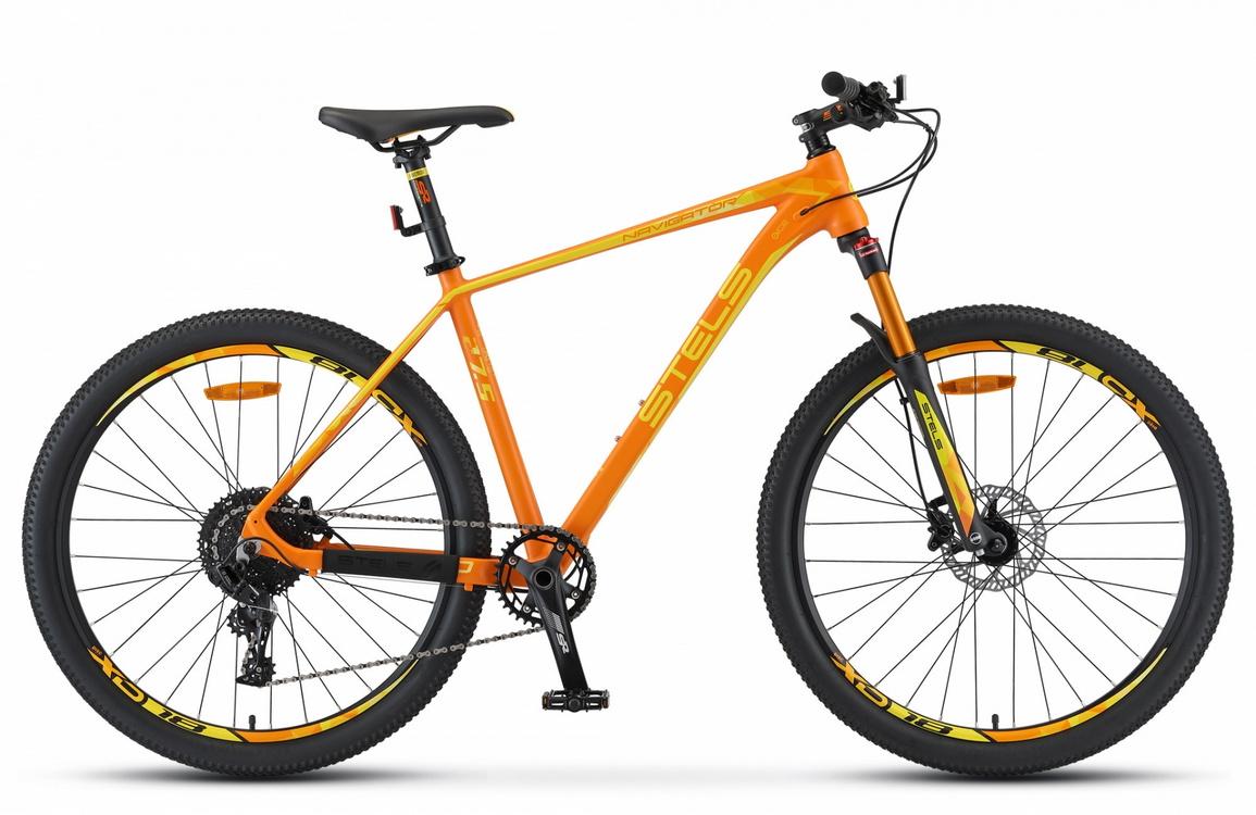 Купить Велосипед Stels Navigator 770 D V010 Оранжевый 27.5Ø 2020 (LU093098),