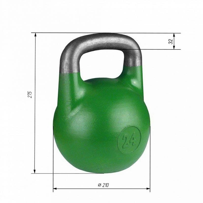 Купить Гиря соревновательная Iron King 24 кг. стандарт 2021,