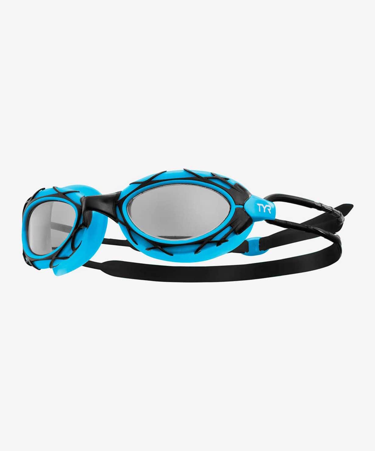 Купить Очки для плавания TYR Nest Pro, голубой,