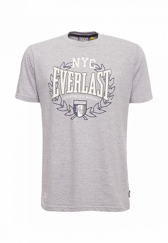 Футболка Everlast Sports Marl NYC серая EVR9025 GR