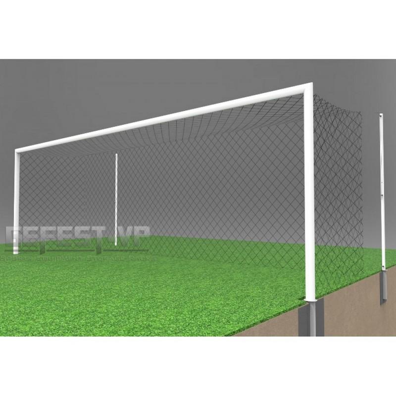 Купить Ворота для футбола, стальные, в стаканах Gefest СС-7102 (732x244) пара,