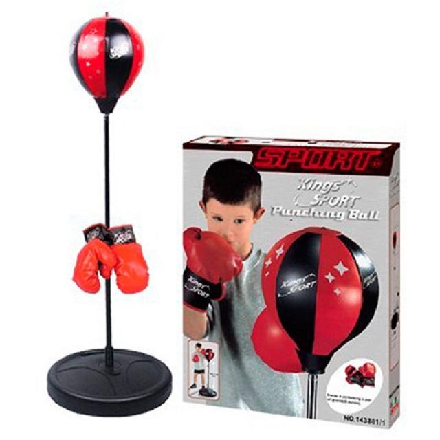 Набор для бокса детский (груша на стойке и перчатки) KingSport 113881 от Дом Спорта