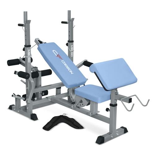 Многофункциональная скамья Carbon Fitness MB-60 регулируемая скамья kraft fitness kffiuby