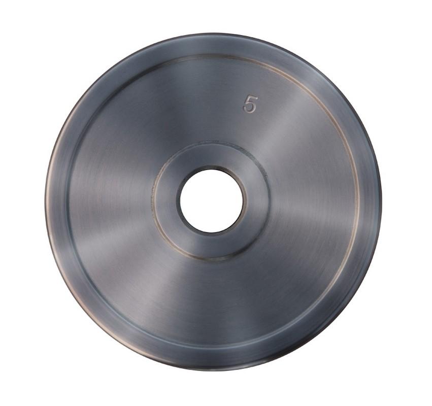 Диск хромированный ProfiGym d51 мм 5,0 кг ДТХ - 5/51