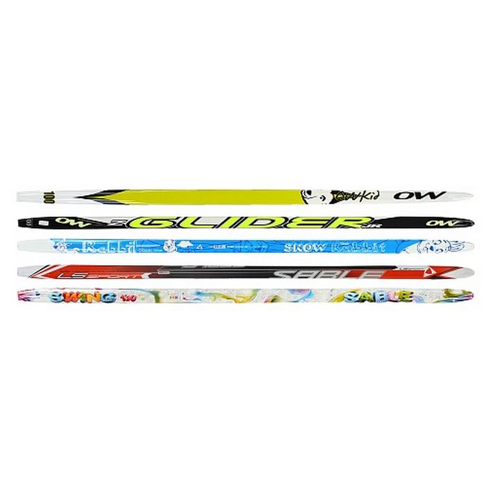 Лыжи детские STC Startaiw step пластиковые лыжи с насечкой stc step 120
