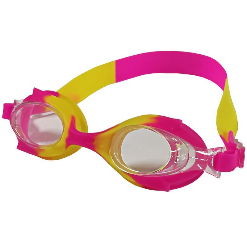 Купить Очки для плавания B31524-3 мультколор (Розовожелтый), NoBrand