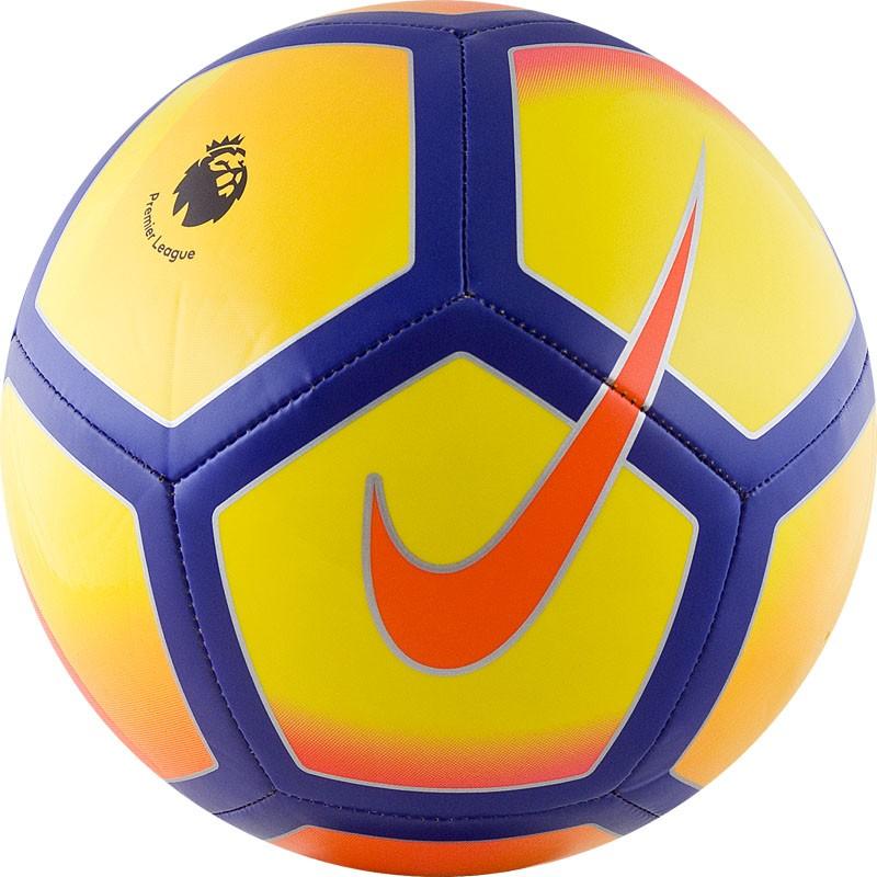 Мяч футбольный Nike PL Pitch PL SC3137-711 р.5 мяч футбольный nike pitch pl р 5 sc3137 620