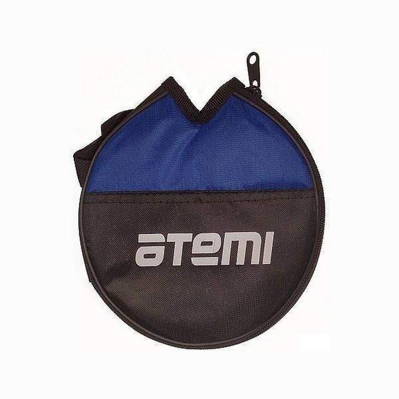 Чехол для ракетки для настольного тенниса Atemi ATC100 черный/синий