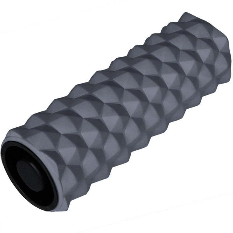 Купить Ролик для йоги 33х13см ЭВААБС B31257-3 серый, NoBrand