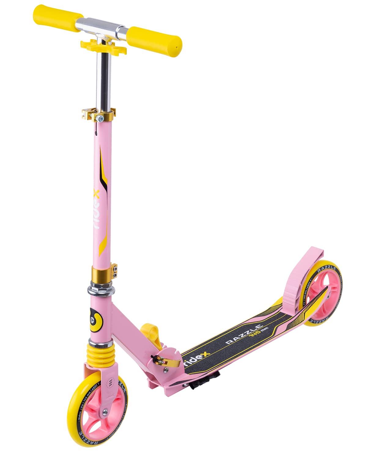 Купить Самокат 2-колесный Ridex Razzle d145 мм, коралловыйжелтый,
