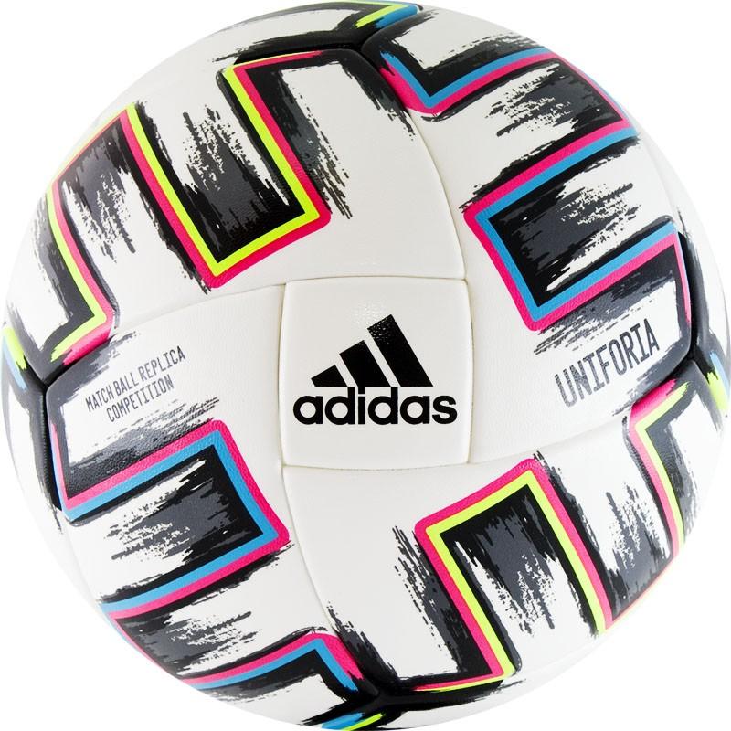 Купить Мяч футбольный Adidas EURO2020 UNIFORIA Competition FJ6733 р.5,