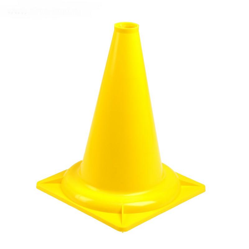 Конус сигнальный У830 (желтый) 35 см
