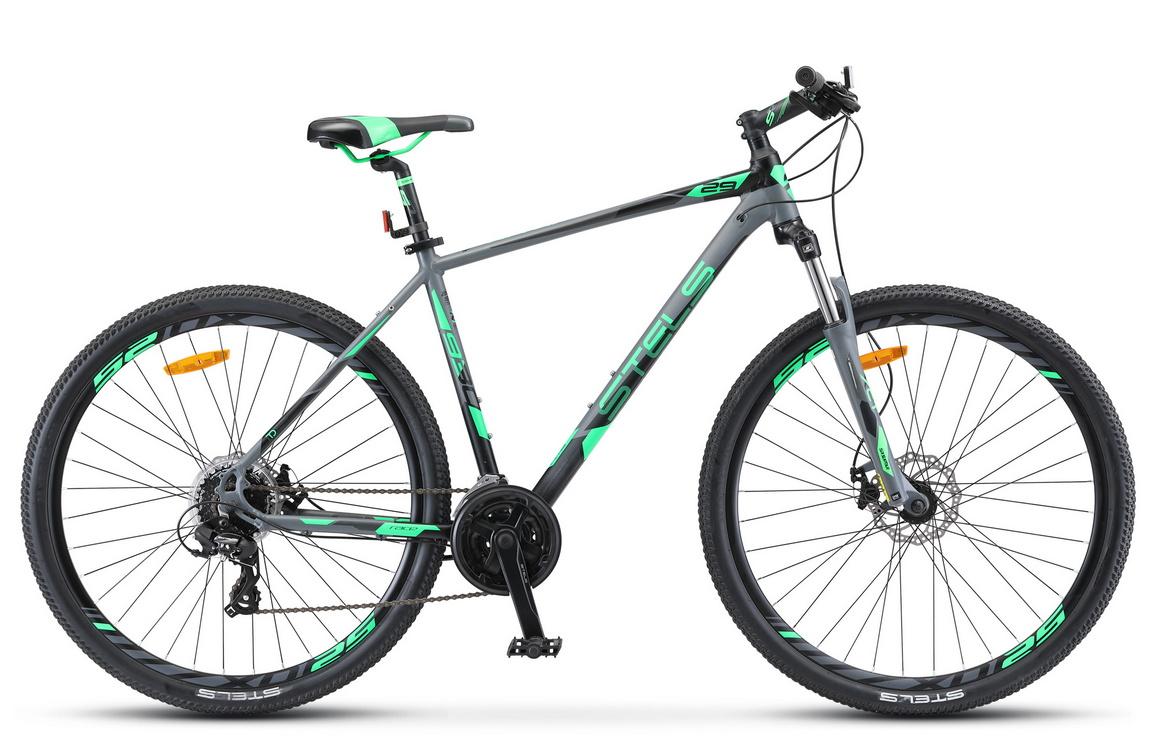 Купить Велосипед Stels Navigator 930 MD V010 Серый/Черный 29Ø 2019 (LU091698),