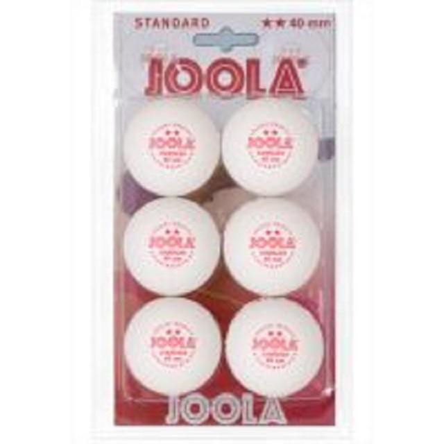 Мячи для настольного тенниса Joola Standard** 6шт