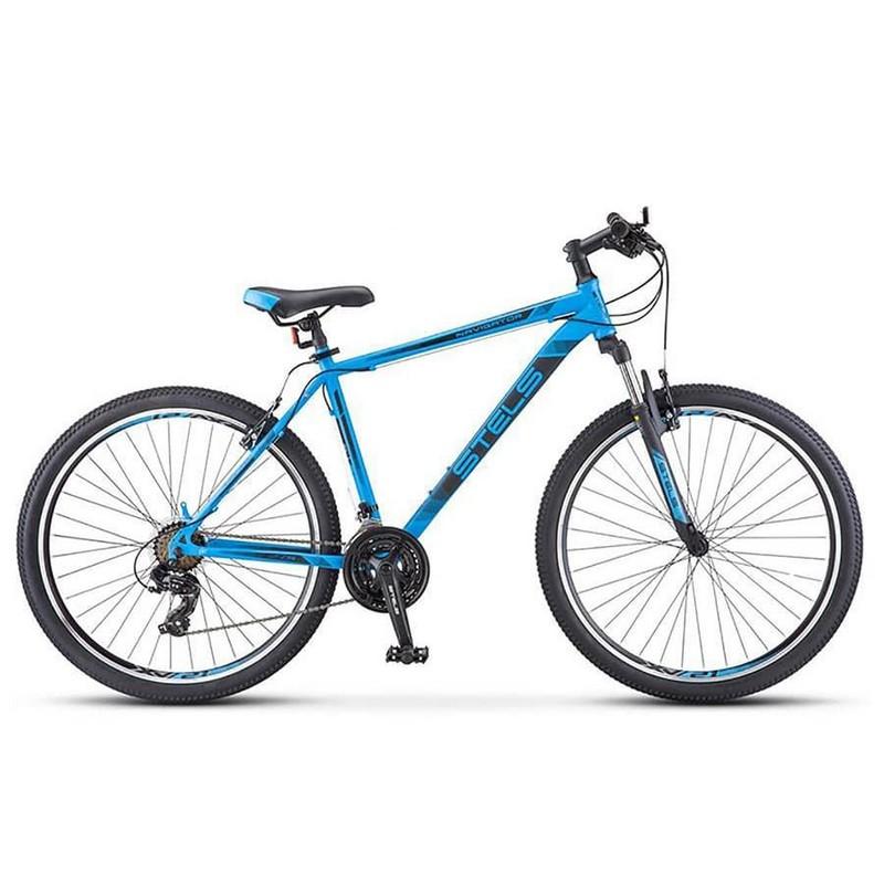 Купить Велосипед Stels Navigator 700 V V010 2018 Синий 27.5Ø (LU088691),
