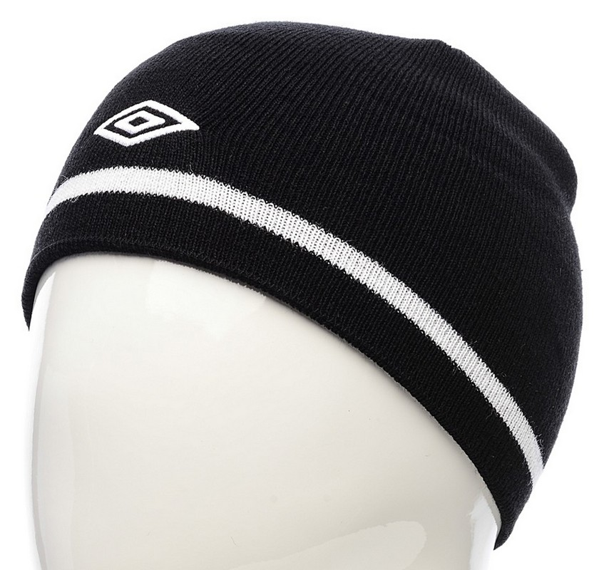 Шапка Umbro Unique hat 560212 (611) чер/бел.