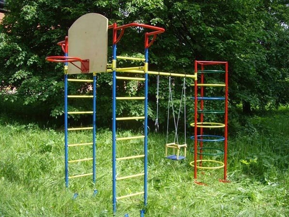 Детский спортивный комплекс ТМК Маугли-11 кольца кюз дельта 114454 d