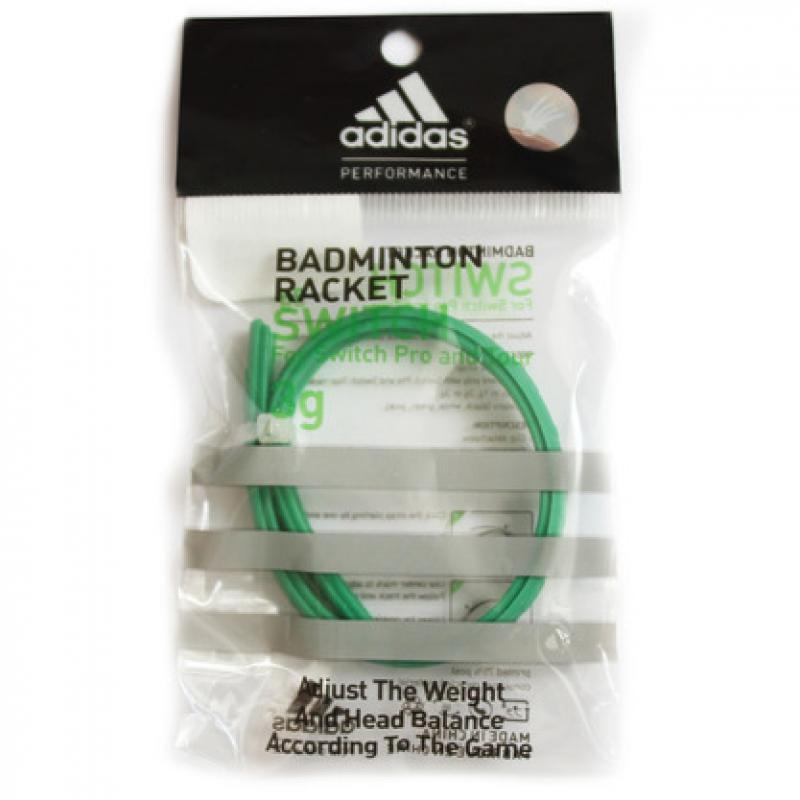 Утяжелитель Adidas для ракетки Switch весом 3 г, зеленый