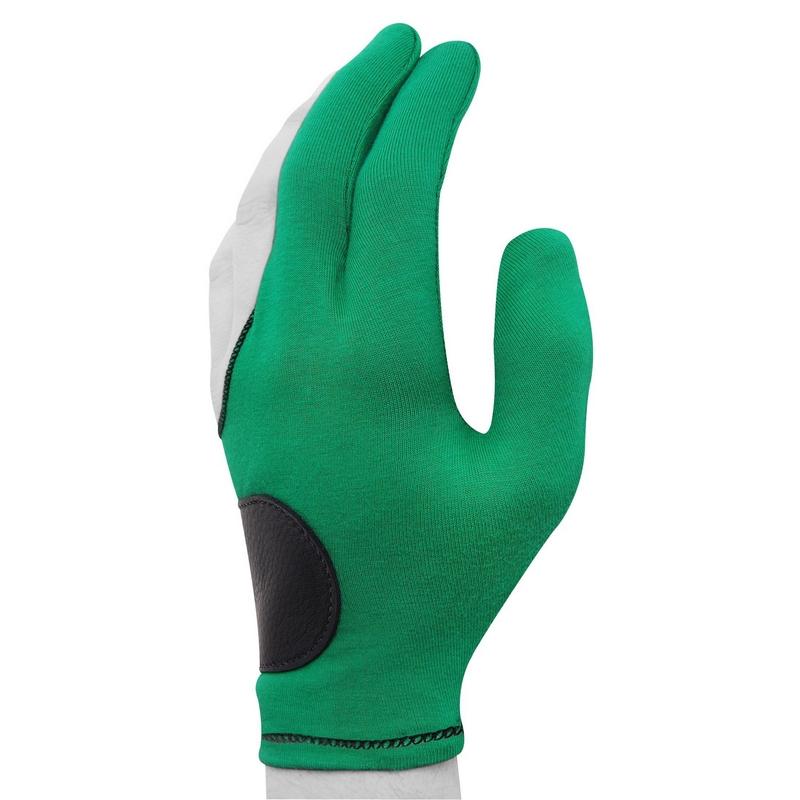 Перчатка Joe Porper's зеленая с кожаной вставкой безразмерная