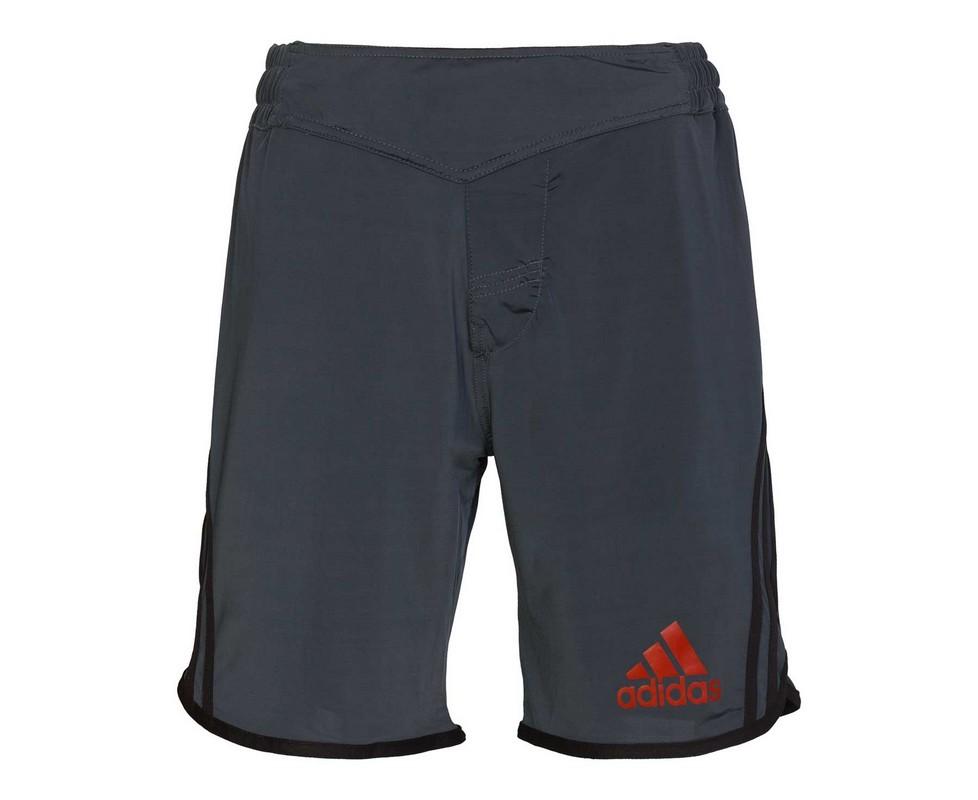 Шорты для единоборств Adidas Grappling Short черно-красные adiBJJS02 шорты тренировочные adidas russia sho cf0563