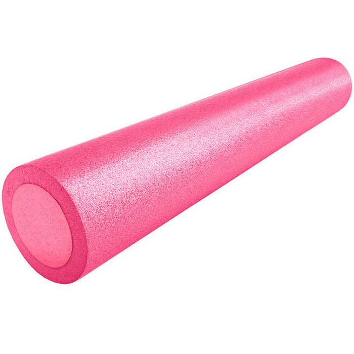 Купить Ролик для йоги полнотелый 2-х цветный (розово-розовый) 90х15см. B31513, NoBrand