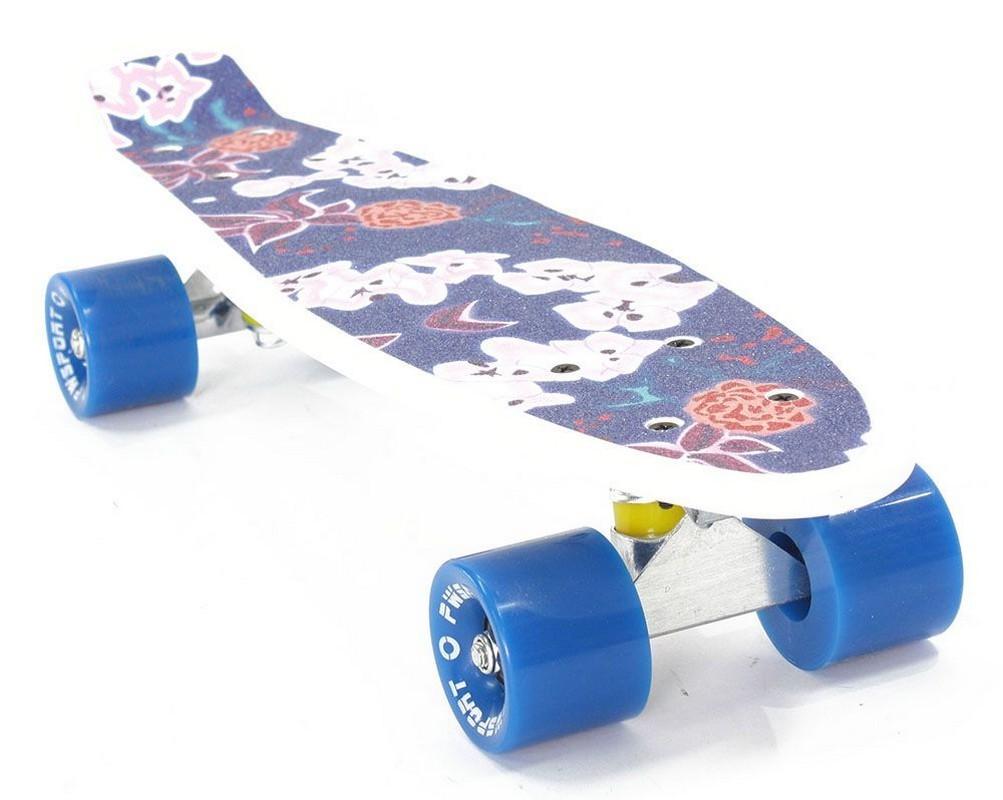 Скейтборд PWSport Grip 22 (Manga) скейтборд с какого возраста можно начинать