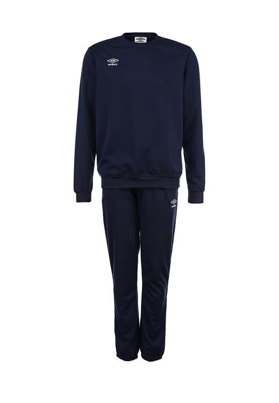 Костюм спортивный Umbro Uniform II Poly Suit 353114 (991) т.син/бел.