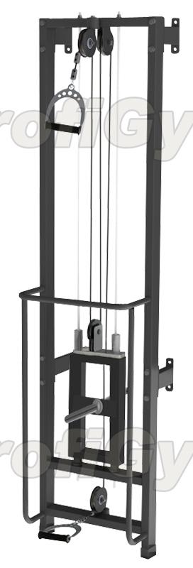 Купить Тренажер для реабилитации ProfiGym на свободных весах ТРБ2500-Д-П-СВР (Rubin),