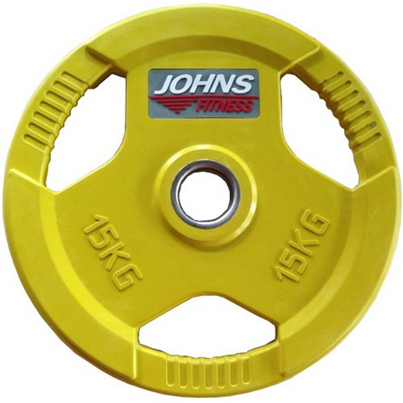Купить Диск Johns d51мм, 15кг 91010 - 15С желтый,