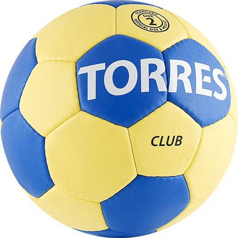 Мяч гандбольный Torres Club №2 H30012 мяч футбольный torres winter street 5 резина