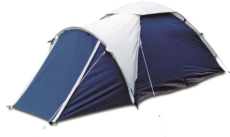 Палатка 2-м Bergen Sport Super Mono-1 синий/серый