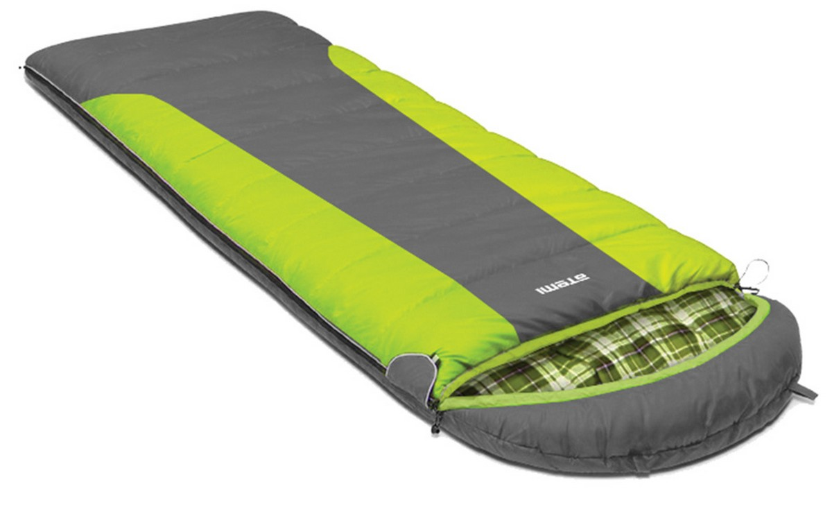 Спальный мешок туристический Atemi 400 г/м2, -10 С, left Quilt 400L