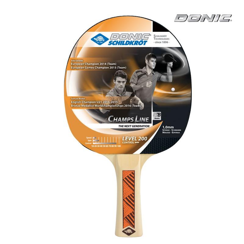 Ракетка настольного тенниса Donic Champs 200 donic baracuda
