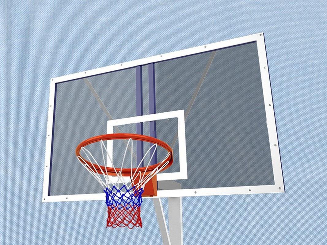 Купить Комплект баскетбольного оборудования для открытой площадки Гимнаст ИОС-10,