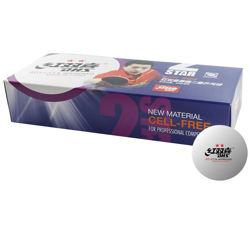 Мячи для настольного тенниса DHS 2** CF40B 10 шт мяч для настольного тенниса neottec training диаметр 40 мм в упаковке 144 шт белые