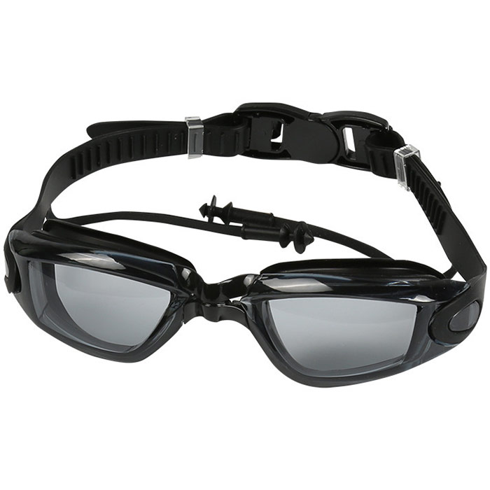 Купить Очки для плавания взрослые B31569 (черные), NoBrand