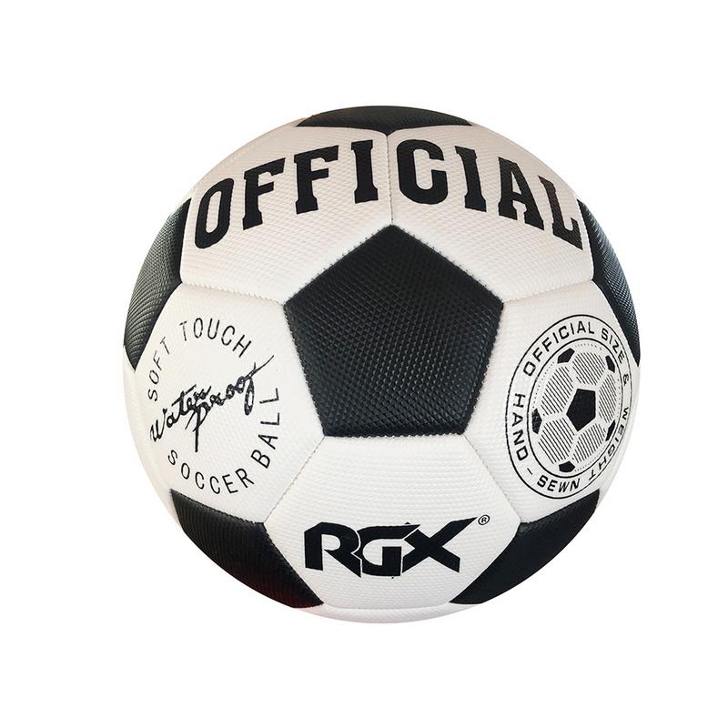 Купить Мяч футбольный RGX FB-1718 Black р.5,