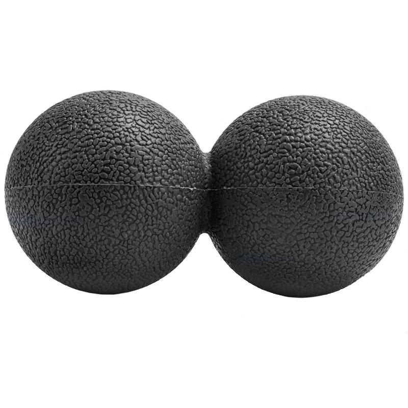 Купить Массажер двойной мячик (ТПР) B32209 черный, NoBrand