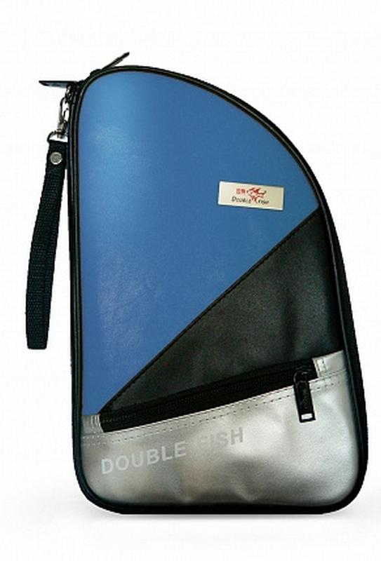 Чехол для ракетки Double Fish (синий) R 01 чехол по форме ракетки для настольного тенниса одинарный neottec gala синий жёлтый