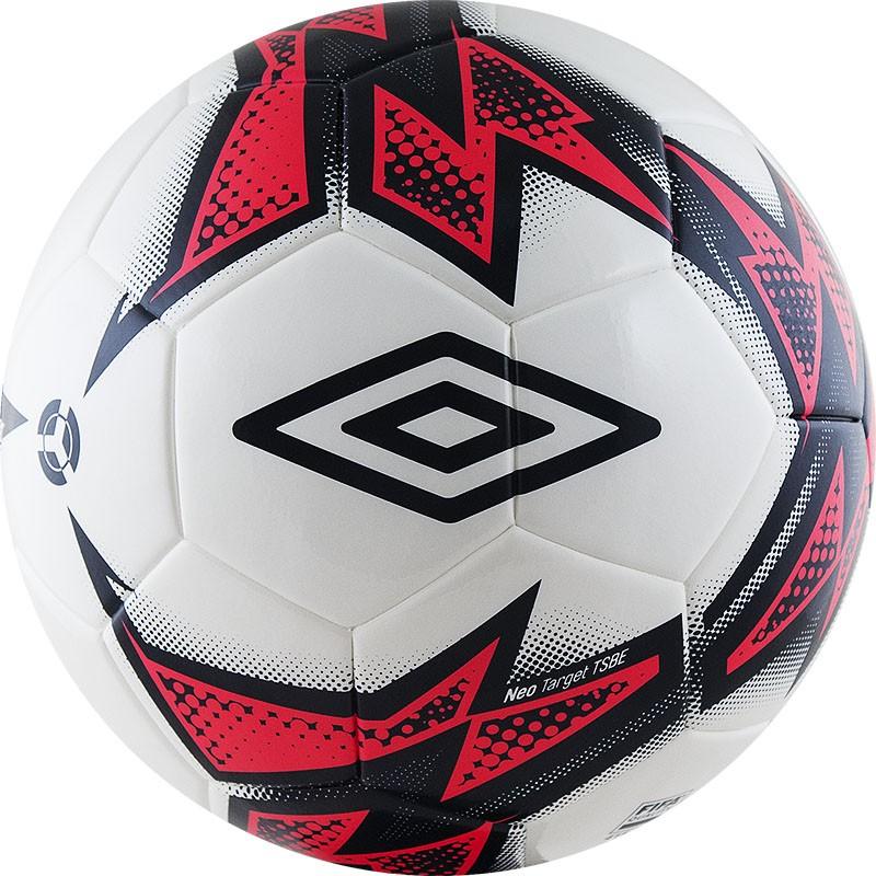 Мяч футбольный матчевый р.5 Umbro Neo Target TSBE 20863U-FNF мяч футбольный nike premier team fifa р 5
