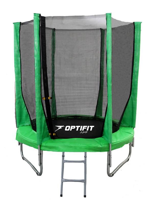 Батут Optifit Jump 6FT 183 см зеленый