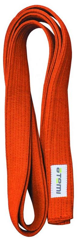 Купить Пояс для кимоно Atemi 280 см оранжевый,