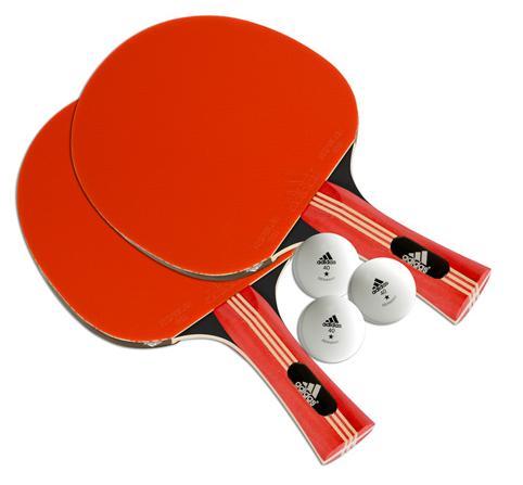 Набор для настольного тенниса Adidas Pure 2 ракетки 3 мяча AGF-10426 цена
