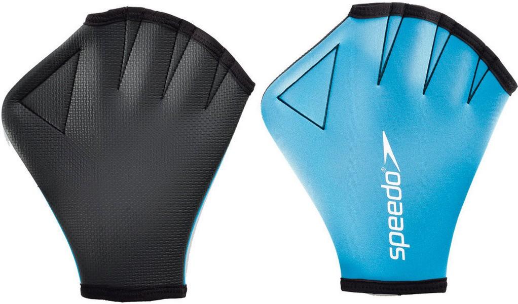 Перчатки для аквафитнеса Speedo Aqua Glove (0309) голубой, S
