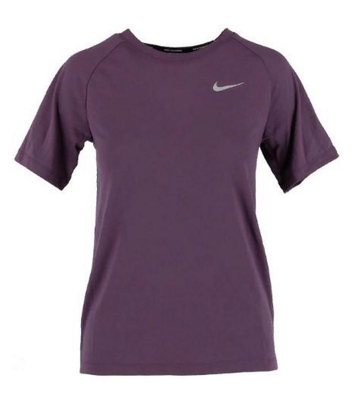 Футболка женская Nike Brthe Tailwind 890190-517 фиолетовая